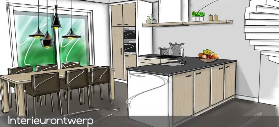 keukenontwerp 2
