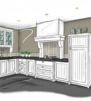 Interieurontwerp-elmi-jansen-keuken-schets-keukenprobleem- oplossing op maat